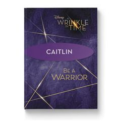 Disney's A Wrinkle In Time: Be a Warrior Personalized Guided Journal