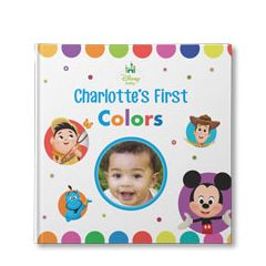 Disney Baby's Your First Colors Personalized Book