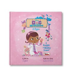 Disney's Doc McStuffins: A Knight In Sticky Armor Personalized Book
