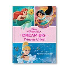 Disney's Dream Big, Princess Personalized Paperback Book