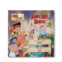 Disney's Jake And The Never Land Pirates: Save Me Smee Personalized Book