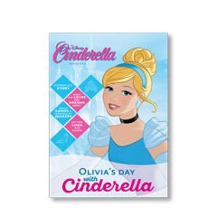 Disney Princess: Your Day with Cinderella Personalized Magazine