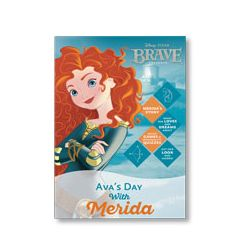 Disney Princess: Your Day with Merida Personalized Magazine