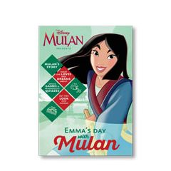 Disney Princess: Your Day with Mulan Personalized Magazine