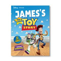 Disney Pixar: Your Day with Toy Story Personalized Magazine