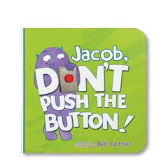 Don't Push the Button Personalized Board Book