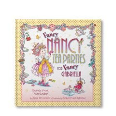 Fancy Nancy Tea Parties Personalized Book