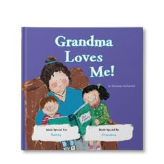 Grandma Loves Me Personalized Book