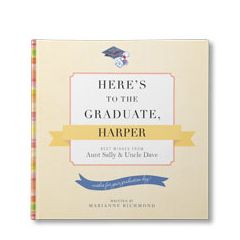 Here's to the Graduate Personalized Book