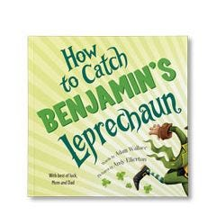 Can You Catch a Leprechaun? Personalized Paperback Book