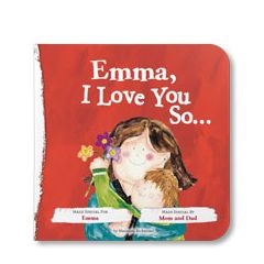 I Love You So Personalized Board Book
