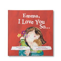 I Love You So... Personalized Book