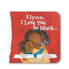 I Love You So Much Personalized Board Book
