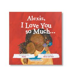 I Love You So Much Personalized Paperback Book