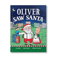 You Saw Santa Personalized Paperback Book