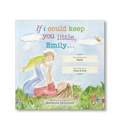 If I Could Keep You Little Personalized Paperback Book