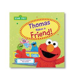 Sesame Street: Let's Make a Friend Personalized Paperback Book