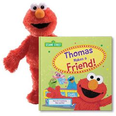 Sesame Street: Let's Make a Friend! Gift Set