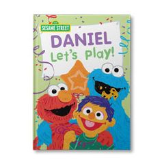 Sesame Street: Let's Play! Personalized Book