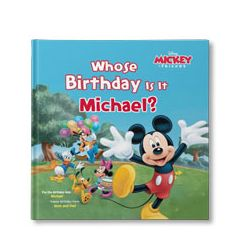 Disney's Mickey and Friends: Whose Birthday Is It? Personalized Book