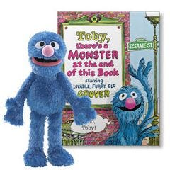 There's a Monster at the End of This Book and Grover Plush Gift Set