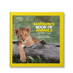 National Geographic Little Kids Book of Animals Personalized Book
