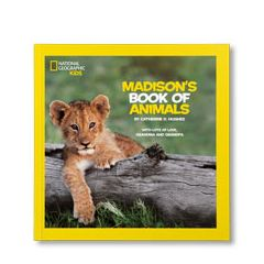 National Geographic Little Kids Book of Animals Personalized Paperback Book