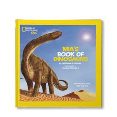 National Geographic Little Kids Book of Dinosaurs Personalized Book