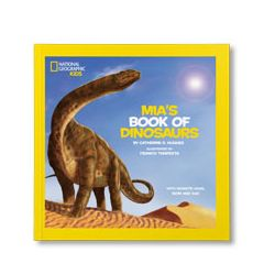 National Geographic Little Kids Book of Dinosaurs Personalized Paperback Book