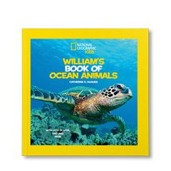 National Geographic Little Kids Book of Ocean Animals Personalized Paperback Book