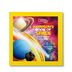 National Geographic Little Kids Book of Space Personalized Paperback Book