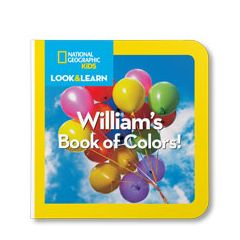 National Geographic: Your Book of Colors Personalized Board Book
