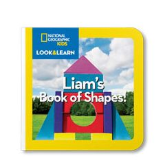National Geographic: Your Book of Shapes Personalized Board Book