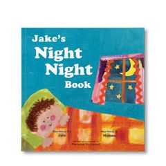 Night Night Personalized Paperback Book for Boys