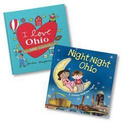 I Love Ohio and Night-Night Ohio Book Bundle