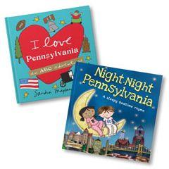 I Love Pennsylvania and Night-Night Pennsylvania Book Bundle