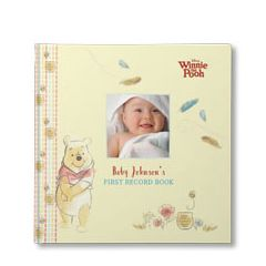 Disneys Winnie The Pooh Babys First Record Book