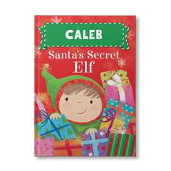 Santa's Secret Elf Personalized Book