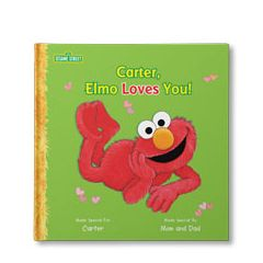 Sesame Street: Elmo Loves You Personalized Book