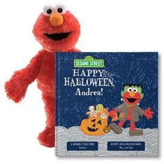 Sesame Street: Happy Halloween and Elmo Plush Gift Set