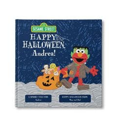 Sesame Street: Happy Halloween! Personalized Book