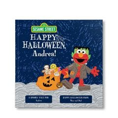 Sesame Street Happy Halloween Personalized Paperback Book