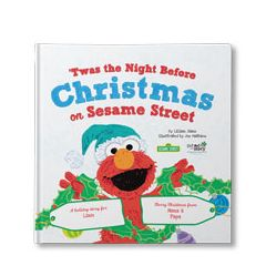 'Twas the Night Before Christmas on Sesame Street! Personalized Book