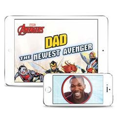 Marvel's The Avengers: The Newest Avenger Personalized Downloadable eBook