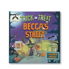 Trick or Treat on Your Street Personalized Book