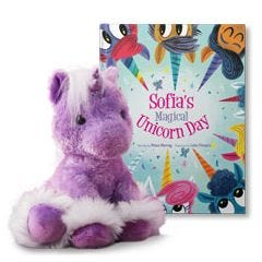 Your Magical Unicorn Day and Dreaming of You Unicorn Gift Set