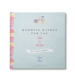 Wedding Wishes for You Personalized Book