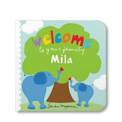 Welcome to Your Family Little One Board Book Edition