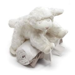 Winky Lamb and Blanket Set