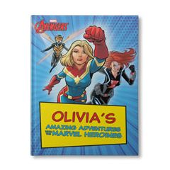 Your Amazing Adventures with the Marvel Heroines Personalized Book